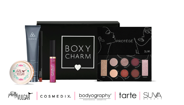December Boxy Charm Box – My thoughts! – That Girl Blogs